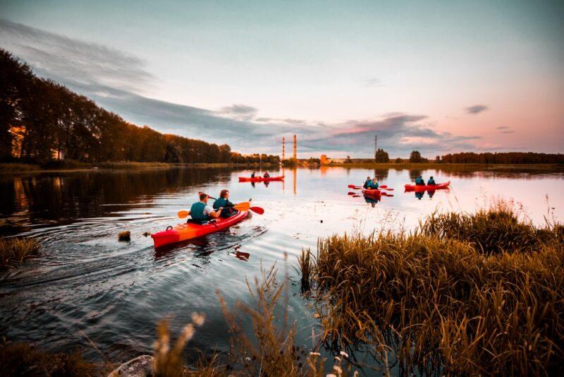 riga kayaking